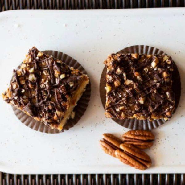 Caramel Crunch Bars - Gluten Friendly