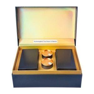 3-Tea Regal Blue Organic White Tea Gift Set Blue Box