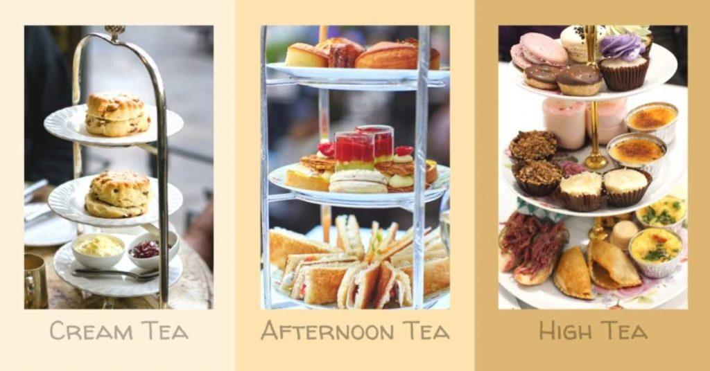 What Is Cream Tea, Afternoon Tea, And High Tea
