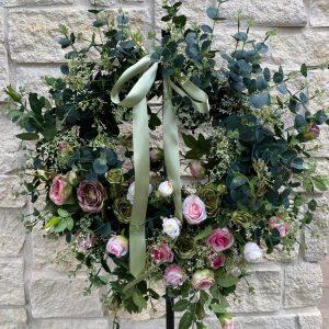 Care-Free Wonder Rose Wreath